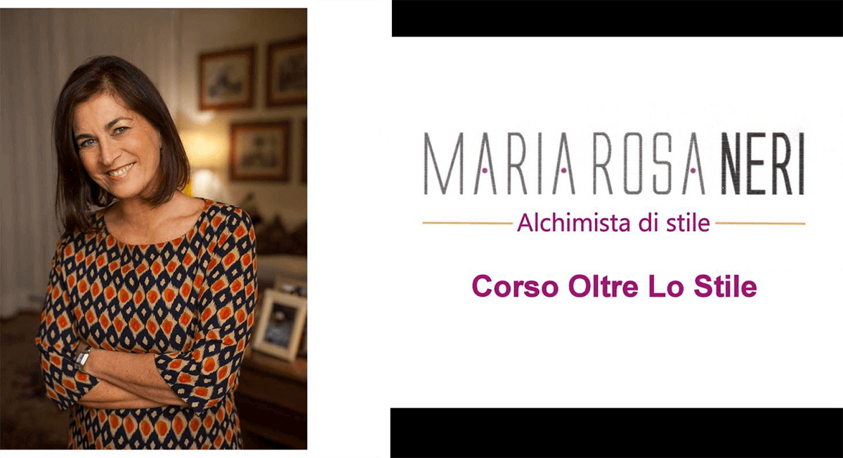 """Corso """"Oltre lo stile"""" di Maria Rosa Neri"""