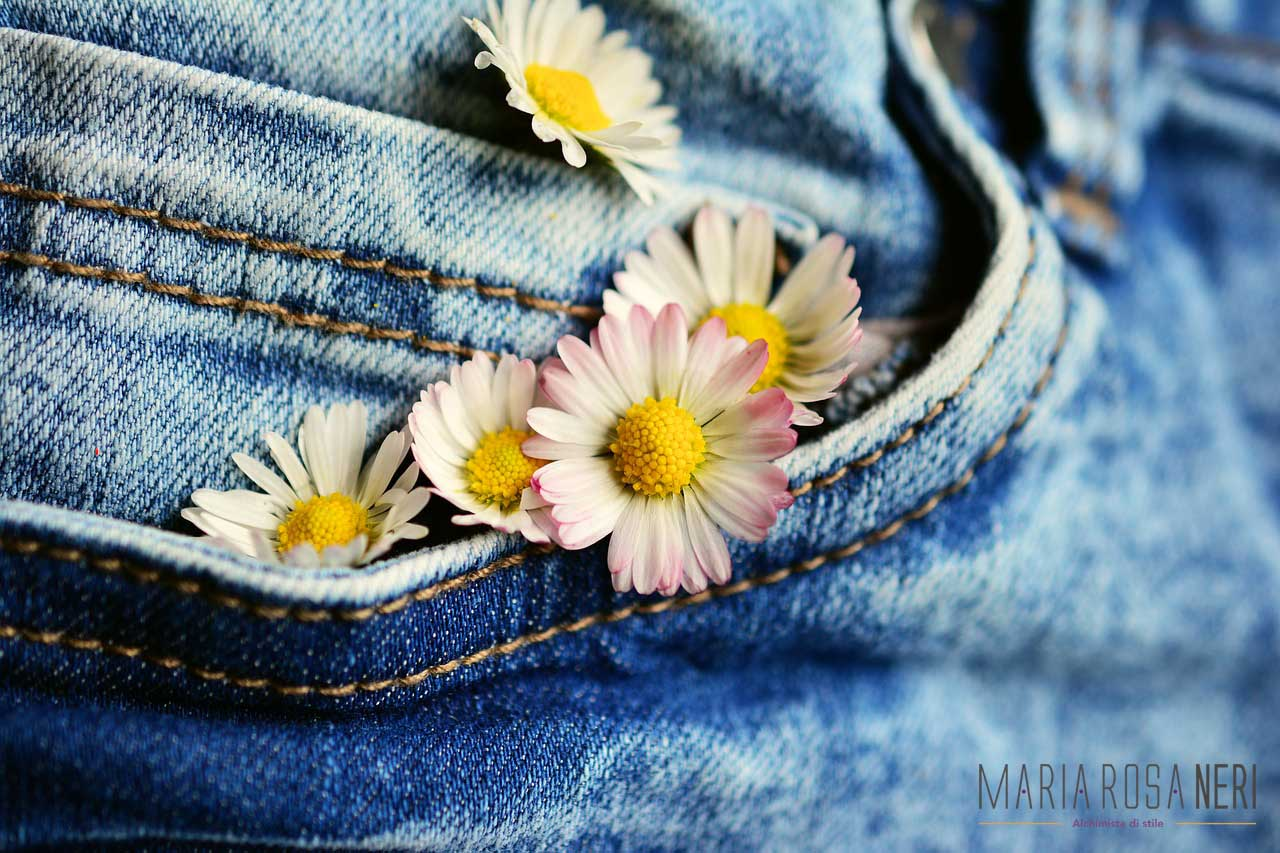 denim come abbinarlo in primavera www.mariarosaneri.it